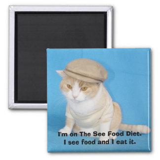 Imán del gatito de Bubba