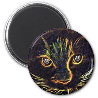 Imán del gatito de Hypno