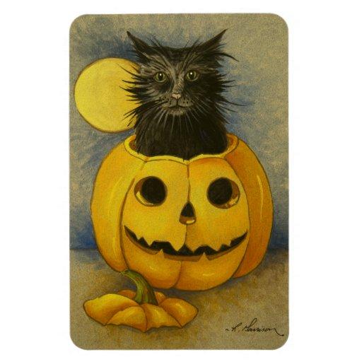 Imán del gatito de la magia negra 4919