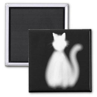 Imán del gatito del fantasma