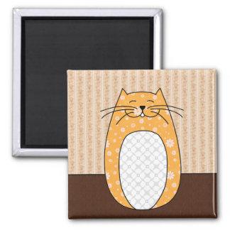 "Imán del ""gato anaranjado"""