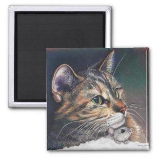 imán del gato y del ratón