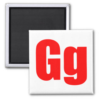 Imán del Gg