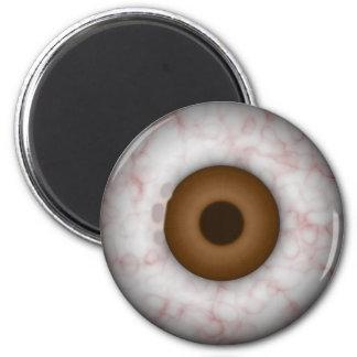 Imán del globo del ojo del iris de Brown