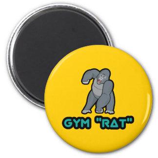 Imán del gorila de la rata del gimnasio