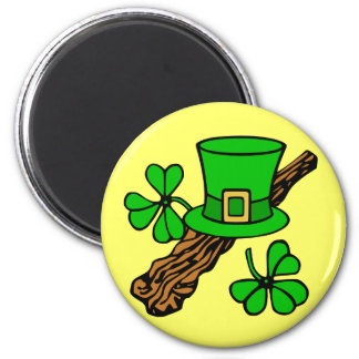 Imán del gorra y del refrigerador de St Patrick de