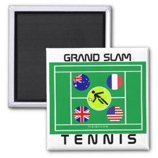 Imán del Grand Slam del tenis