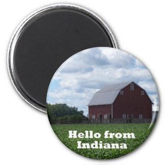 Imán del granero de Indiana