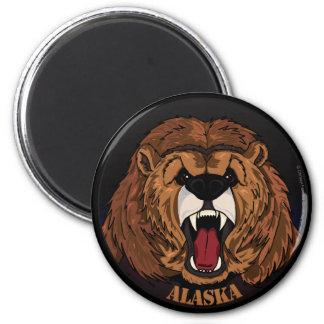 Imán del grisáceo de Alaska