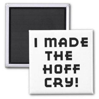 Imán del grito de Hoff