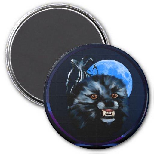 Imán del gruñido del lobo