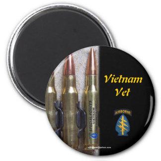 imán del grupo de las boinas verdes de Vietnam de