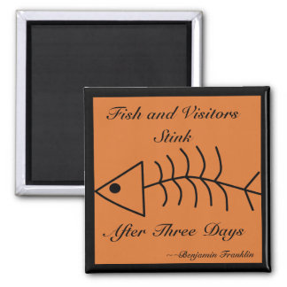 Imán del hedor de los pescados y de los visitantes