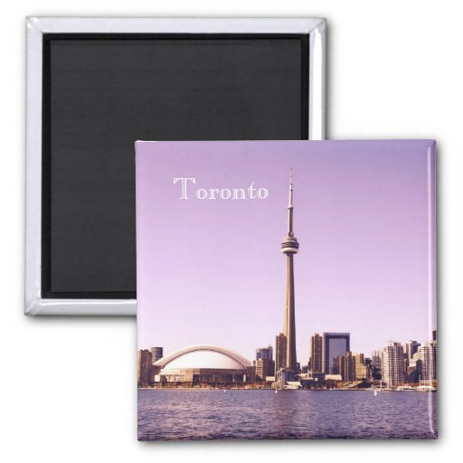 Imán del horizonte de la mañana de Toronto