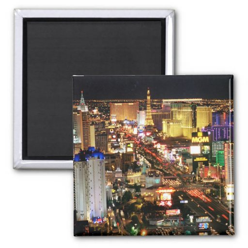 Imán del horizonte de la noche de Las Vegas