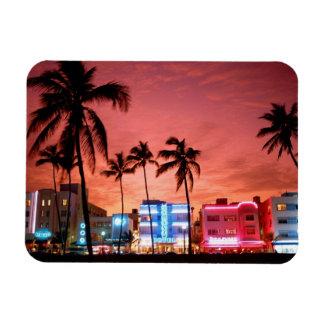 Imán del horizonte de Miami Beach de la impulsión