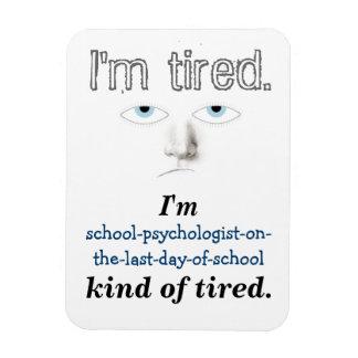Imán del humor de la psicología de la escuela