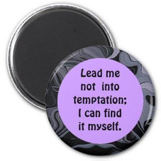 imán del humor de la tentación
