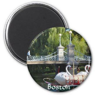 Imán del jardín público de Boston