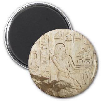 Imán del jeroglífico de Egipto