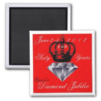 Imán del jubileo de diamante del Queens