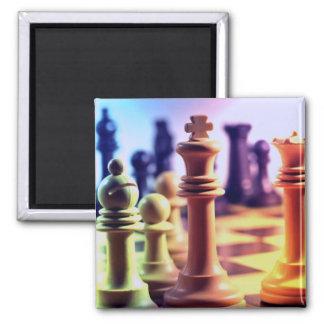 Imán del juego de ajedrez