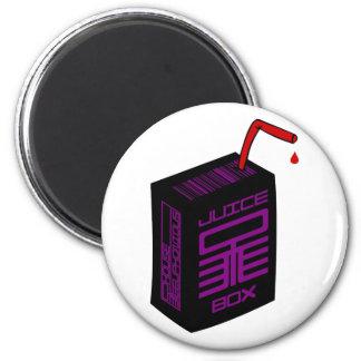 Imán del Jugo-Box (BG blanca)