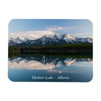 Imán del lago herbert, Alberta, Canadá