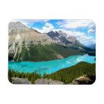 Imán del lago mountains rocosas