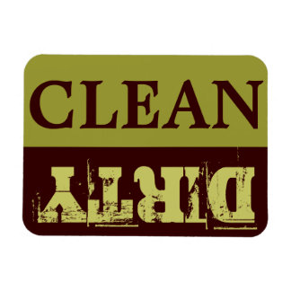 Imán del lavaplatos de CLEAN-DIRTY - flexión - 3