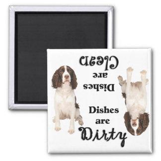 Imán del lavaplatos del perro de aguas de los