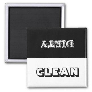 Imán del lavaplatos limpio o sucio