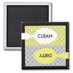 Imán del lavaplatos limpio/sucio - Limpios/Sucios