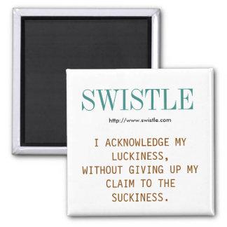 Imán del lema del blog de Swistle