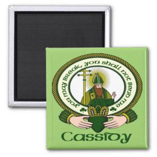 Imán del lema del clan de Cassidy