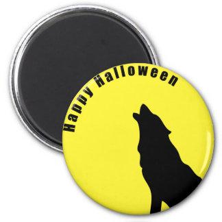 Imán del lobo de Halloween