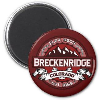 Imán del logotipo de Breckenridge