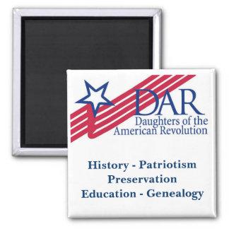 Imán del logotipo de DAR