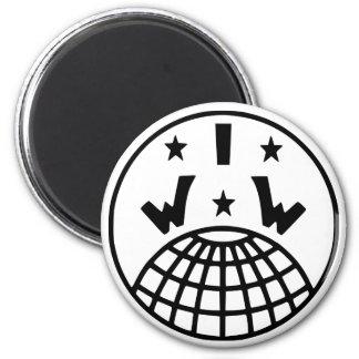 Imán del logotipo de IWW
