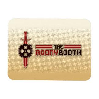 Imán del logotipo de la cabina de la agonía