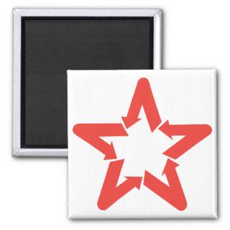 Imán del logotipo de la estrella de Venezuela