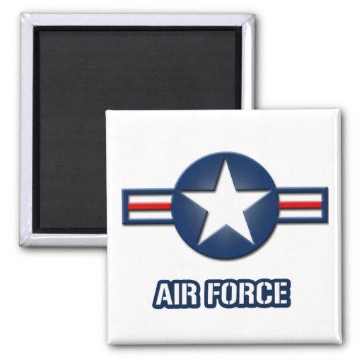 Imán del logotipo de la fuerza aérea