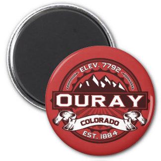 Imán del logotipo de Ouray