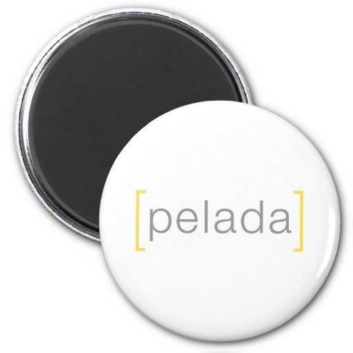 Imán del logotipo de Pelada