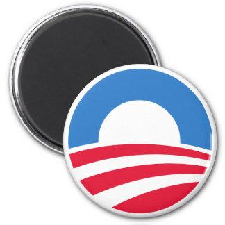 Imán del logotipo de presidente Barack Obama