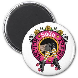 Imán del logotipo de Soyo