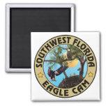 Imán del logotipo de SWFLEagleCam (DIVERSAS
