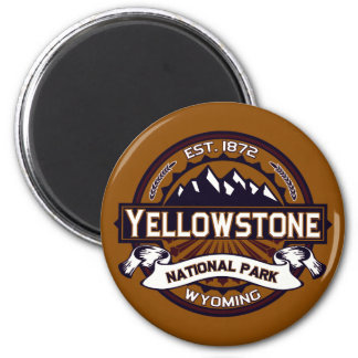 Imán del logotipo de Yellowstone