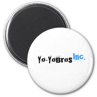 Imán del logotipo de Yo-YoBros, Inc.