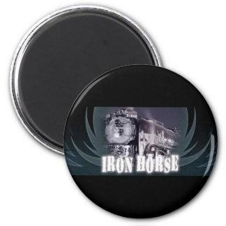 Imán del logotipo del caballo de hierro